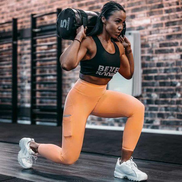 Trening pośladków - legginsy