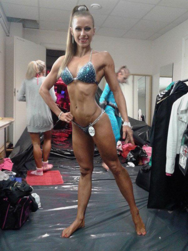 Zdjęcie Wiesławy Olkowskiej bikini fitness sesja zdjęcie 19