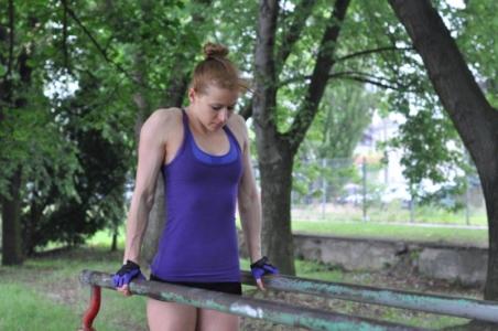 Zdjęcie Wiesławy Olkowskiej trening Skra Warszawa 20