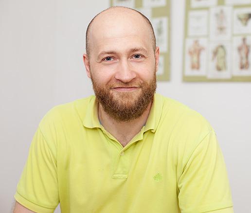 Łukasz Giermasiński Fizjoterapeuta